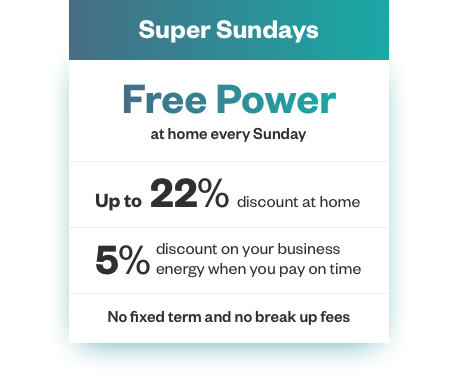 free power every sunday